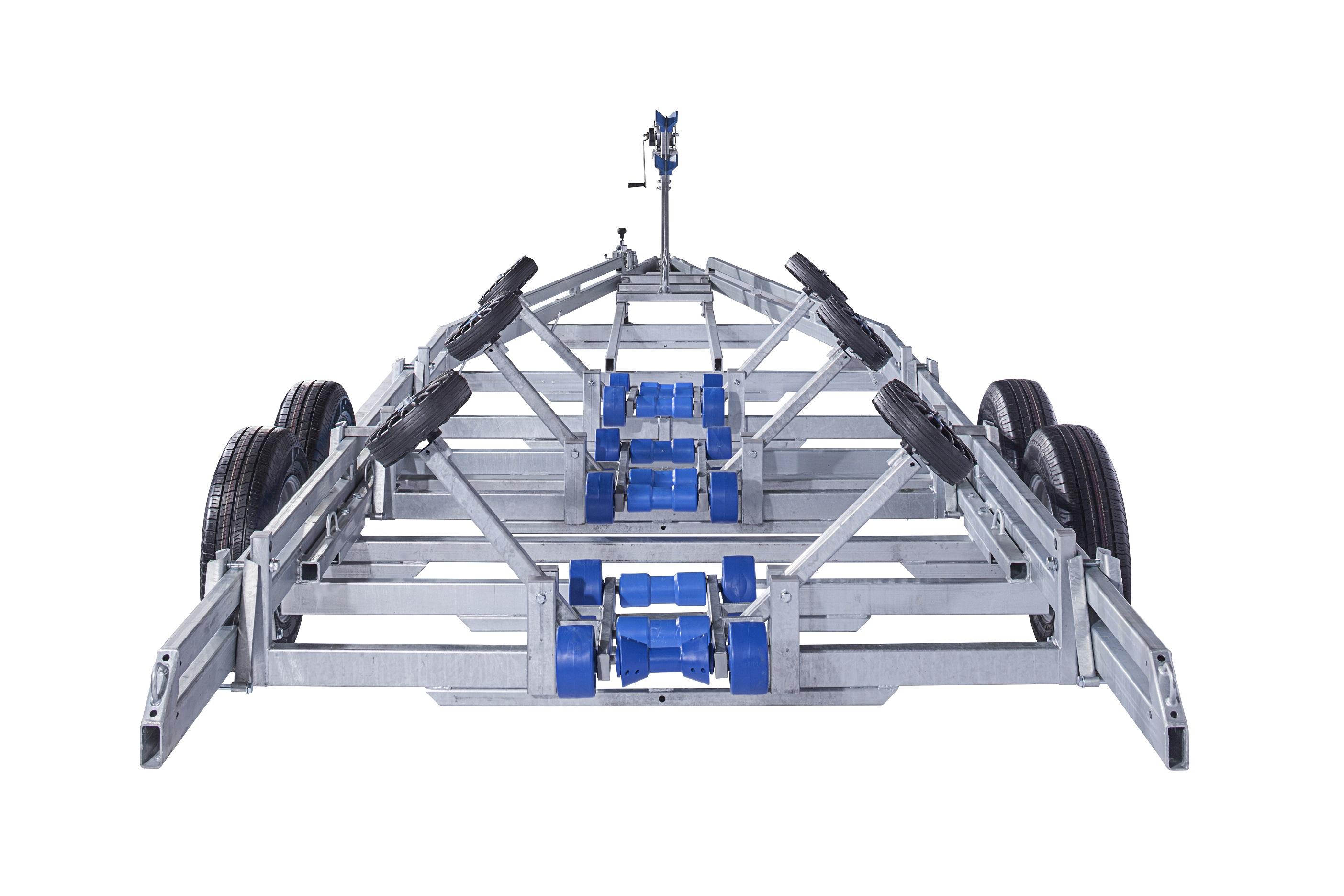 BB3500 Pludmales piekabe [Attēli ir informatīvi un piekabes komplektācijā var būt iekļauts papildu aprīkojums]