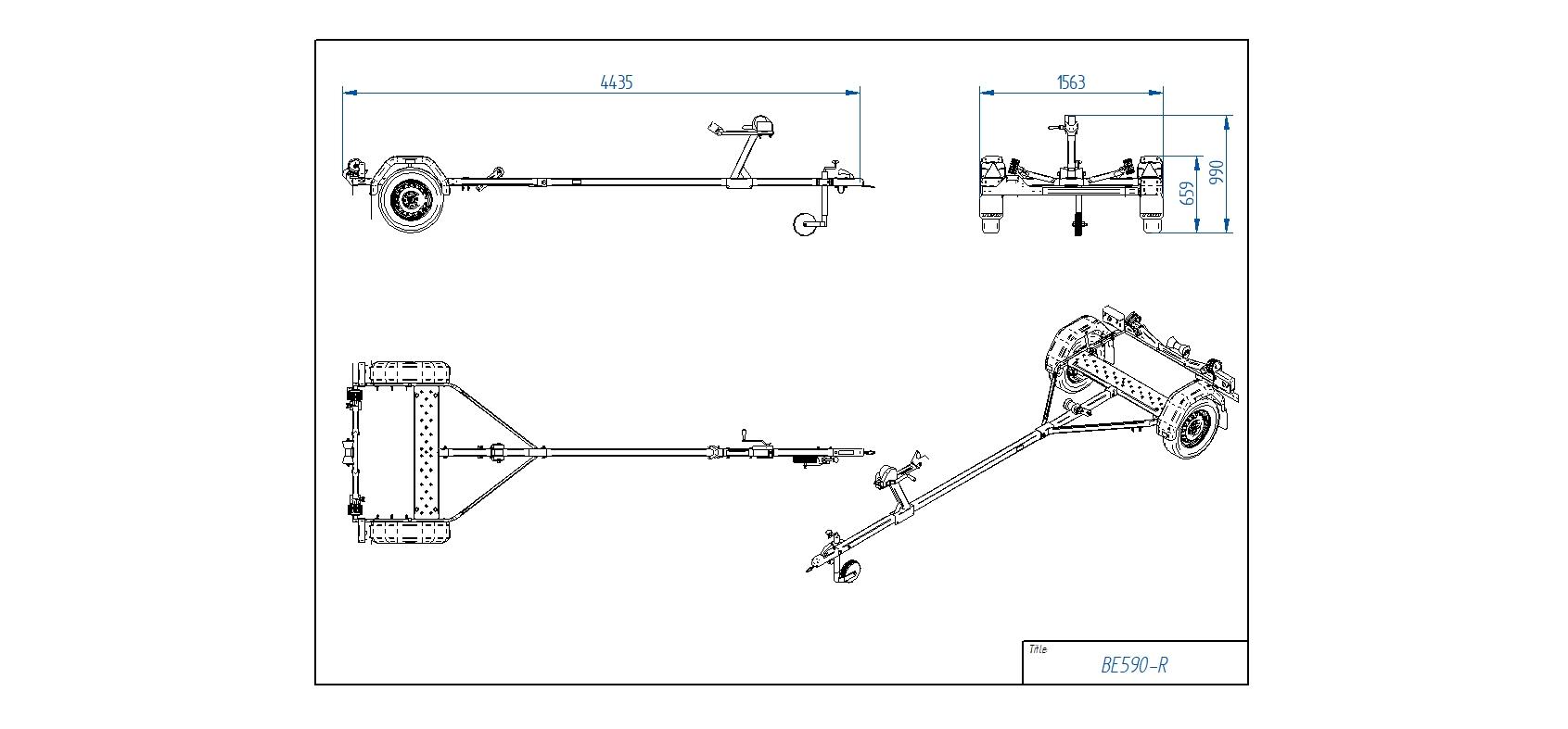 BE590-R [Attēli ir informatīvi un piekabes komplektācijā var būt iekļauts papildu aprīkojums]