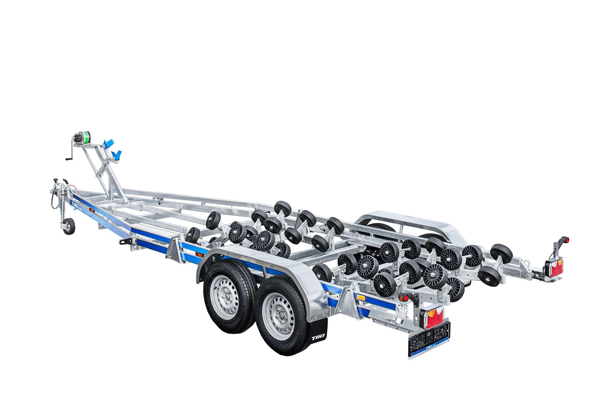 BP2600-DRB Multiroller [Attēli ir informatīvi un piekabes komplektācijā var būt iekļauts papildu aprīkojums]
