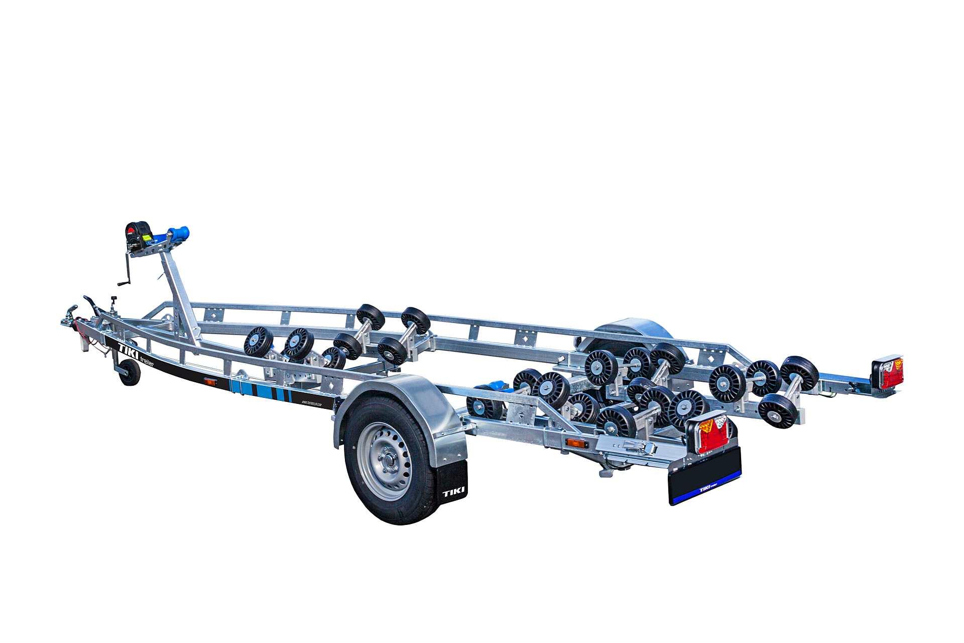 BP1500-RBA Multiroller [Attēli ir informatīvi un piekabes komplektācijā var būt iekļauts papildu aprīkojums]